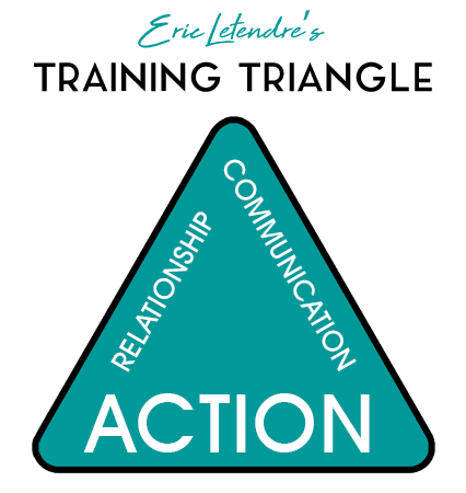 Eric Letendre's Dog Training Triangle